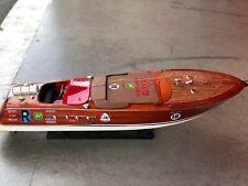 maquette riva bateau Riva Aquarama ZOOM  67cm entièrement Bois modélisme