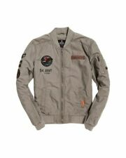 NWT Superdry Men's Rookie Duty Patch Bomber Jacket Army **XXL