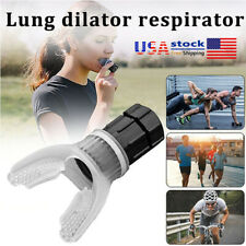 Lung Respirator Fitness Trainer Breathing Vital Capacity Exerciser GYM Outdoor