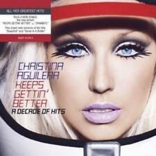 Christina Aguilera : Keeps Gettin' Better: A Decade of Hits CD (2008)