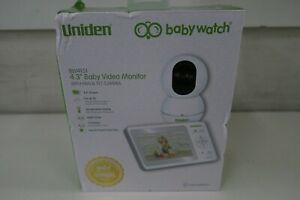 """UNIDEN BW4151 4.3"""" DIGITAL WIRELESS BABY MONITOR WITH PAN & TILT CAMERA"""
