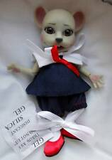 "5.5"" Tonner~Crumpet the Mouse BJD Resin Doll~Evangeline Ghastly's Pet~NIB"