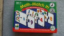 Math - Match It! Pre- School Ages 3+ [30 self-correcting puzzle pairs]