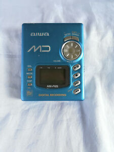 Aiwa AM-F65 BLUE Personal MiniDisc Player