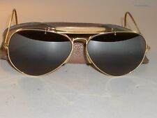 58mm B&L RAY BAN GP B15 TOP GRADIENT MIRROR OUTDOORSMAN AVIATOR SUNGLASSES
