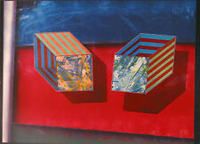 "Shahrokh Rezvani ""Paradox #1,"" 1990, Mix Media Color Monotype"