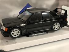 Mercedes-Benz 190 EVO2 1990 Black 1:18 Scale Solido 1801001