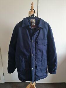 Drizabone Jacket szL Warm Lining Made In Australia Navy