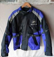 Mens Buffalo Motorcycle Bike Jacket Textile Armour Protection Armoured - Size XL