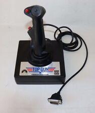 Top Gun Thrustmaster Vintage PC Computer Joystick Paramount 15 Pin Controller