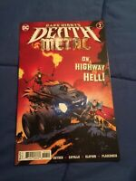 DARK NIGHTS DEATH METAL #2 CAPULLO 2nd Print Recolored Variant [DC Comics]