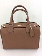 New Coach F57521 Mini Bennett Satchel Handbag Purse Shoulder Bag Brown