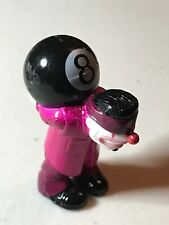 "Vintage HOMIES figurine Clown Holding 8 Ball 1 3/4"" Tall"
