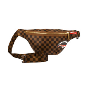 Marsupio Sprayground SHARKS IN PARIS cross body brown