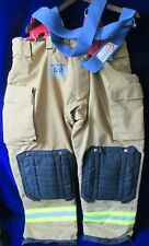 NEW HONEYWELL MORNING PRIDE FIREFIGHTER PANTS W/SUSPENDERS TURNOUT GEAR