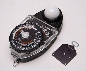 Sekonic L-398M Studio Deluxe II Ambient/Incident Handheld Light Meter - EX+!