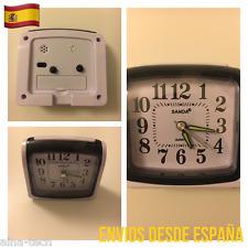 Reloj Anlalogico De Agujas Estilo Vintage Clásico Con Despertador Novedad!!!