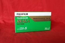 Fuji Fujicolor CS120 Reala Professional 5pack, For Color Print, ISO 100, Expired
