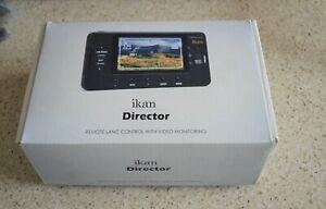 "New ikan Director 4.3"" TFT LCD Monitor Screen Remote LANC Control Video"