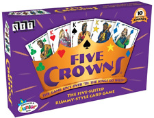 Five Crowns, The Five Suited Card Game, New, Free Shipping