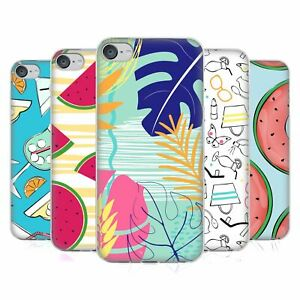 OFFICIAL MARTINA ILLUSTRATION SUMMER PATTERNS GEL CASE FOR APPLE iPOD TOUCH MP3