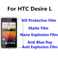 3pcs For HTC Desire L High Clear/Matte/Anti Blue Ray Screen Protector