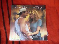 Tin Cup Costner Russo Golf Film Laser Disc Large DVD LaserDisc Vintage