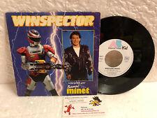 45T BO Winspector LP Vinyle Bernard Minet AB Kid TF1 Club Dorothée 1991 sentaï