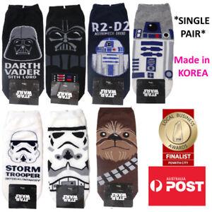 Men's Star Wars Ankle Socks SINGLE PAIR MADE IN KOREA
