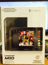 "BRAND NEW SEALED Monster M10 16gb Android 10.1"" Tablet  Google Play"