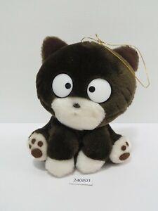 "TAMA & Friends 240801 Cat BEH SEGA 1993 Plush 6"" Stuffed Toy Doll japan"