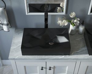 Square Vessel Bathroom Sinks For Sale Ebay