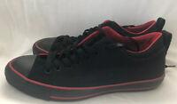 Converse Dual Collar Sneaker Black/Red Men Size 9