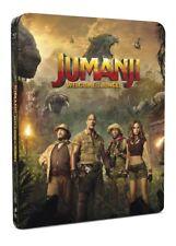 Jumanji Welcome To The Jungle 4K Ultra HD & 2D Blu-ray Steelbook! FREE P+P!