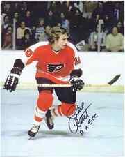 "Bill Clement Autographed Philadelphia Flyers 8"" x 10"" Photo w/COA Certification."
