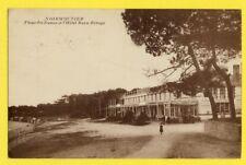 cpa 85 - NOIRMOUTIER (Vendée) PLAGE des DAMES et l'HÔTEL BEAU RIVAGE Epicerie