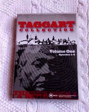 TAGGART COLLECTION - VOLUME 1 (DVD, 4-DISC) R-ALL, LIKE NEW, FREE POST AUS-WIDE
