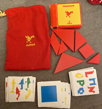 Game Djeco Tangram Geoforme Complete In Bag