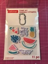 Pineapple Die & Stamp Set By Craftsmart 11 Pcs