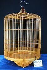 Asian Bamboo Bird Cage Shama Set-2