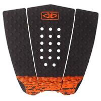 Ocean And Earth Simple Jack 3 Piece Traction Surfboard Hybrid Tail Pad Black/Ora