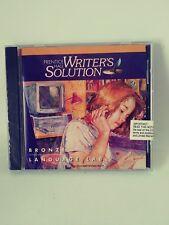 Prentice Hall Writer's Solution Bronze Writer's Lab CD-ROM Sealed 1996
