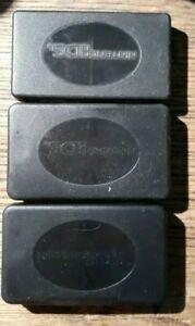 3 Original Official Nintendo DS Game Plastic Cases OEM Each 1 Holds 4 Games