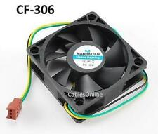 3-Pin 60mm CPU Case / Power Supply Sleeve Bearing Cooling Fan - 703321