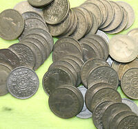 BULK FLORINS CHOOSE THE AMOUNT FROM 10 TO 250 OLD TWO SHILLING COINS