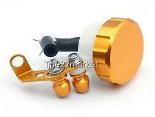 New Universal Gold Brake Fluid Reservoir For Yamaha YZF R1 R6 FZ1 FZ6 FJR 1300