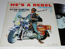 THE CRYSTALS He's A Rebel Philles Records PHLP-4001 Uptown Phil Spector album