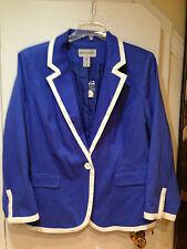 Women's Business Church Work day night Cruise X-mas Blazer Jacket plus 22W 2X