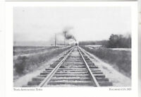 "*Maryland-""Train Approaching Town"" @ *Pocomoke City  {Postcard} (3-MD)"