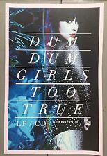 Music Poster Promo Dum Dum Girls ~ Too True